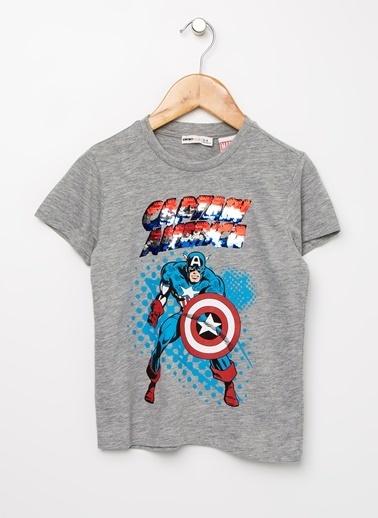 Koton Koton Gri T-Shirt Gri